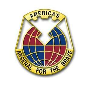 United States Army Material Command Unit Crest Patch Decal Sticker 5.5