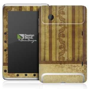 Design Skins for HTC Flyer   Stripes & Tendrils Design