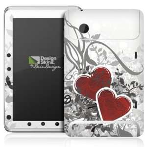 Design Skins for HTC Flyer   Hearts Design Folie