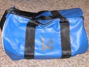 NOTRE DAME FOOTBALL IVORY COVINGTONS HELMET BAG W/ PIC