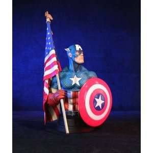 Marvel Comics Captain America Bust Toys & Games