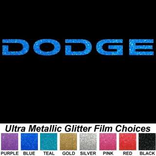 Ultra Metallic Bling 9 Auto Car Truck Window Sticker Decals
