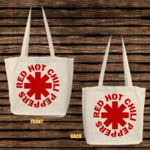 NEW Red Hot Chili Peppers RHCP Band Tote Bag Two Sided