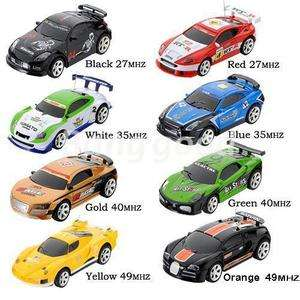 Coke Can Mini RC Radio Remote Control Micro Racing Car Toy Vehicles