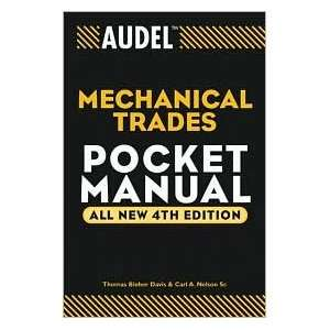 Audel Mechanical Trades Pocket Manual 4th (forth) edition