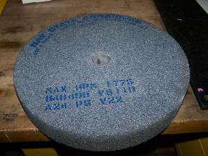 14 inch grinding wheel x 2 Bay state machine grinder