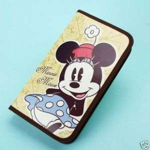 Disney minnie mouse 80PCS CD DVD wallet Bag Case gift