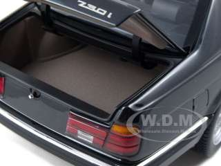 1987 BMW 730i E32 7 SERIES BLACK 1:18 MINICHAMPS