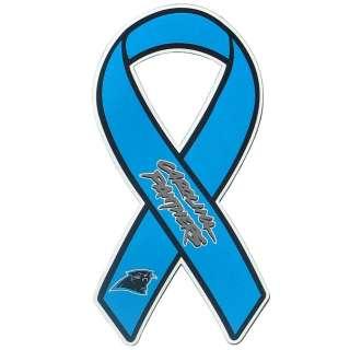 Panthers Vinyl Ribbon Car Truck Magnet NFL Football Licensed Team Logo