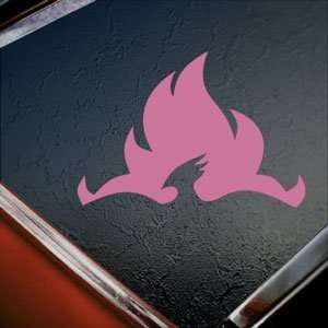 Order Of The Phoenix Pink Decal Car Truck Window Pink