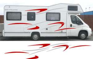 Motorhome / Caravan / Camper Vinyl Graphics/Stickers #1