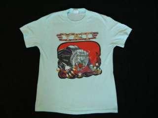 1987 CONTAGIOUS VTG TOUR T SHIRT CONCERT L ratt dio
