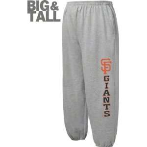 San Francisco Giants Big & Tall Steel Grey Fleece
