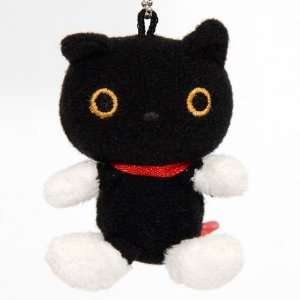 Kutusita Nyanko black cat plush cellphone charm Toys & Games