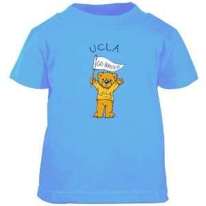UCLA Bruins True Blue Toddler Pennant T shirt Sports