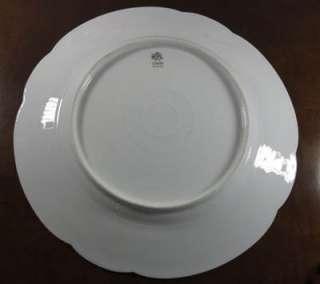Vintage Rosenthal Carmen Bavaria China Plate w/ Green Pink & White