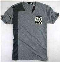 NWT Moschino Mens Simple Logo Fashion T shirt Black 18101 Size M XXL