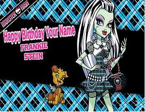 Monster High   Frankie Stein   Edible Photo Cake Topper  $3ship