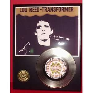 LOU REED GOLD RECORD LIMITED EDITION DISPLAY Everything
