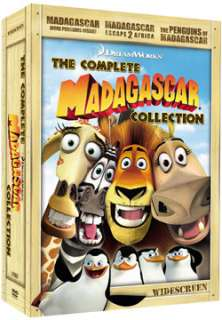 Madagascar The Complete Collection 3 Disc Gift Set (WS/DVD