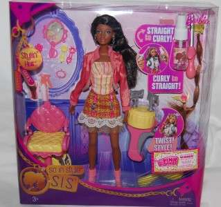 SO IN STYLE STYLIN HAIR GRACE DOLL CHAIR + MORE NEW