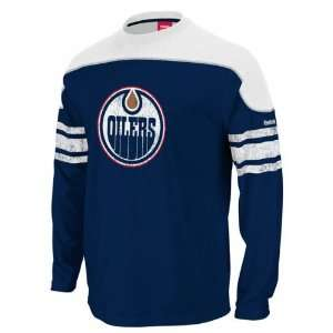 Edmonton Oilers Shootout Long Sleeve T Shirt Sports