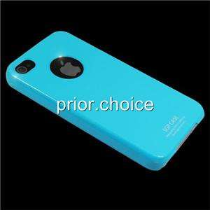 NEW BABY BLUE ULTRA THIN SMOOTH UV CRYSTAL HARD CASE COVER FOR APPLE