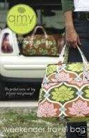 Amy Butler Weekender Travel Bag sewing pattern NEW