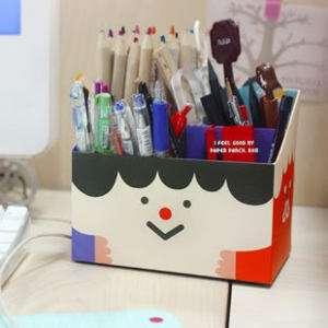 Paper Pencil Box Case DIY South Korean Style 23120