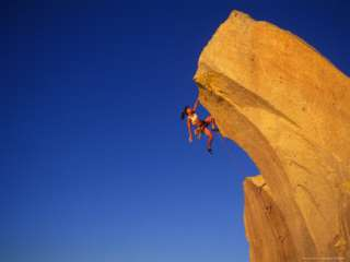 Woman Rock Climber Photographic Print by Greg Epperson at AllPosters