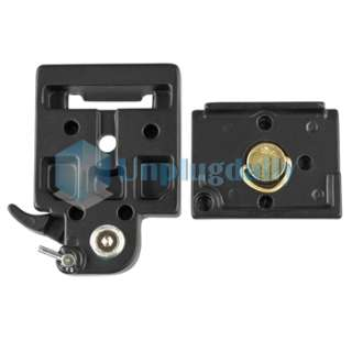 Manfrotto 323 Quick Change Plate Adapter w/ 200PL 14 For Camera Tripod