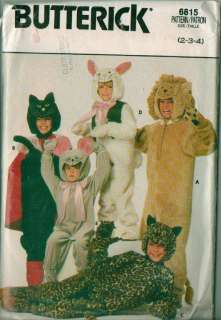 OOP Child Infant Toddler Halloween Costume Sewing Pattern