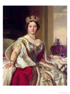 Portrait of Queen Victoria 1859 Giclee Print by Franz Xavier