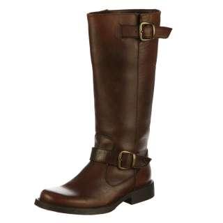 Steve Madden Womens P Frannk Brown Knee high Riding Boots