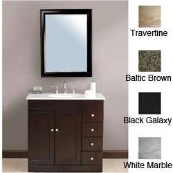 Madara 36 inch Single Sink Bathroom Vanity  Overstock