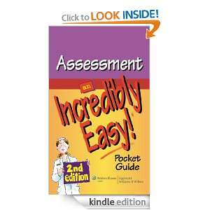 Assessment An Incredibly Easy Pocket Guide (Incredibly Easy Series