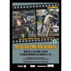 The Baader Meinhof Complex Movie Poster (11 x 17 Inches