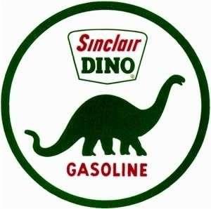 Vintage Sinclair Dino sticker decal sign 3 diameter