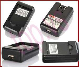 brand new USB Seat+wall travel Battery Charger HTC Incredible S710E