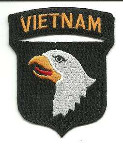 US Army 101st Airborne Vietnam War Patch
