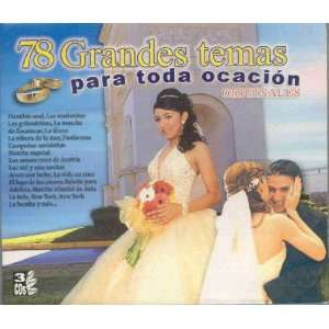 78 GRANDES TEMAS PARA TODA OCASION VARIOS Music