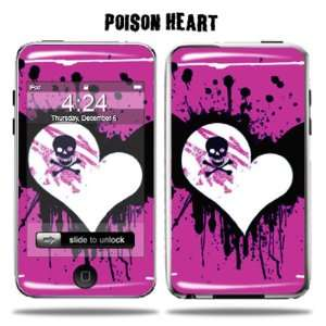 Apple iPod Touch 2G 3G 2nd 3rd Generation 8GB 16GB 32GB   Poison Heart