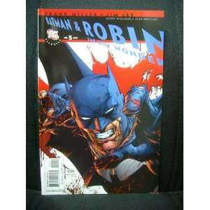 All Star Batman and Robin, the Boy Wonder #5 Frank Miller Books