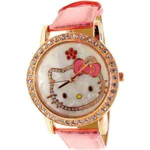 Sanrio Hello Kitty Crystal WristWatch Wrist Watch