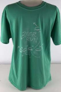 Tommy Bahama Green Beer Run Tee Shirt Men 2865