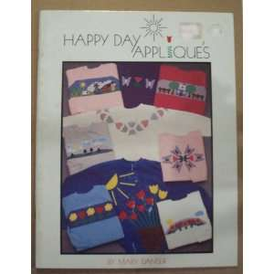 Happy Day Applique Stitching Craft Book  Books