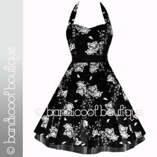 NEW BLACK FLORAL COCKTAIL EVENING PROM DRESS 8 18