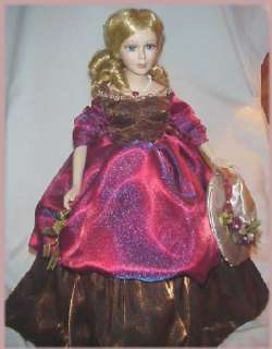 CHRISTINA! BEAUTIFUL COUNTRY HERITAGE DOLL COLLECTION