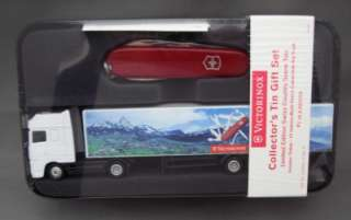 12 Function Multi Tool Knife w/ Diecast Truck in Collector Tin
