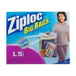 Ziploc Big Bags, Large, 3 gallon, 15x15 in., 40 ct (8/5s